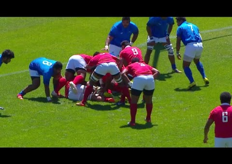 Highlights: Tonga A beat Samoa A at Americas Pacific Challenge