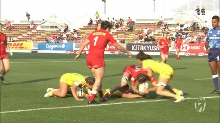 Kaili Lukan scores bizarre try for Canada
