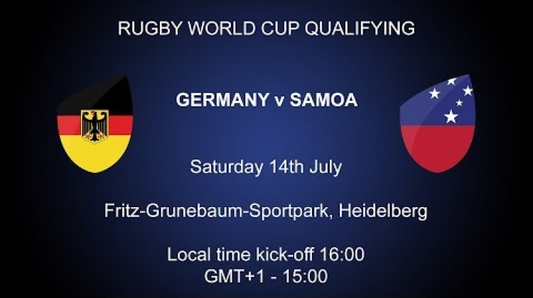 Rugby World Cup 2019 Qualifying Play-Off - Germany v Samoa