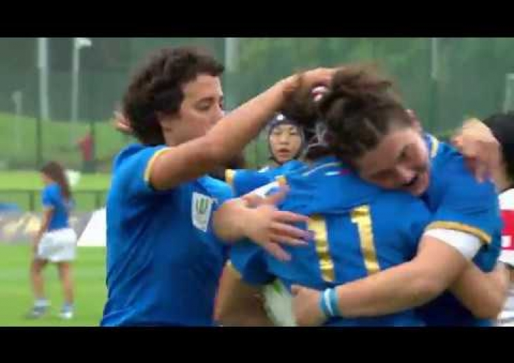 WRWC HIGHLIGHTS: Italy v Japan