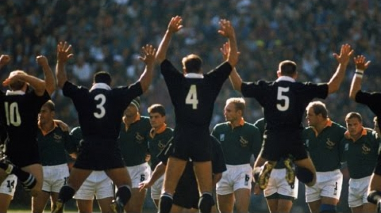 All Blacks' 1995 RWC final haka: On This Day