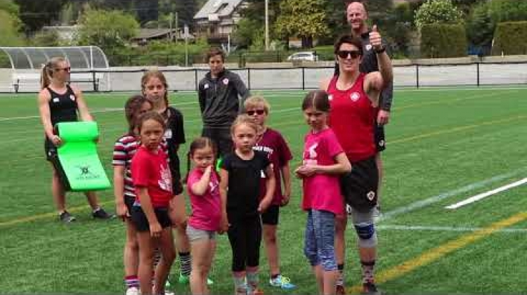 KidSport Youth Clinic with Canada's Women's Sevens Team