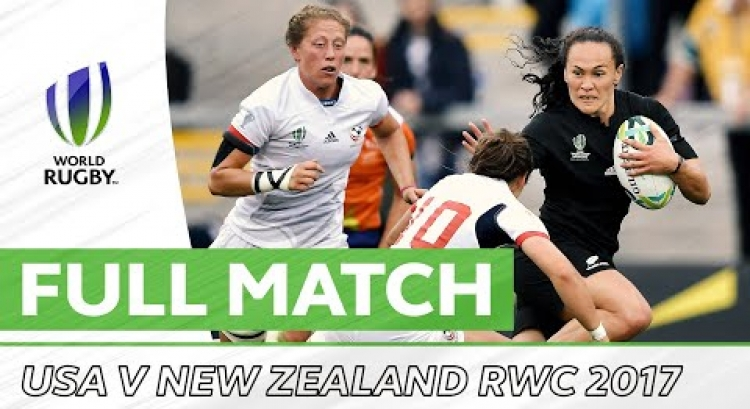Rugby World Cup 2017 Semi-Final: USA v New Zealand