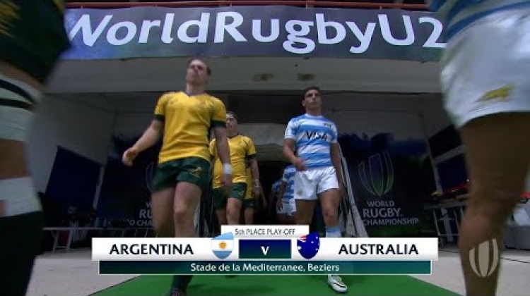Argentina 15-41 Australia - World Rugby U20 Championship Highlights