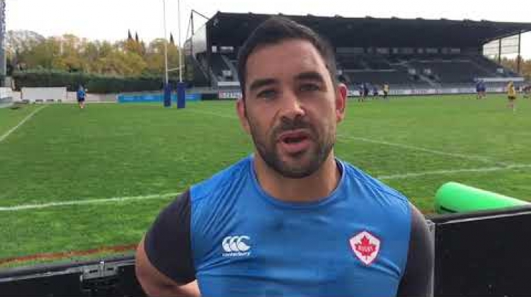 Pre-Game | Captain Phil Mack discusses RWC repechage opener against Kenya