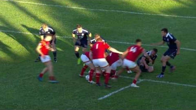 U20 Highlights: Scotland beat Wales in fifth place-semi