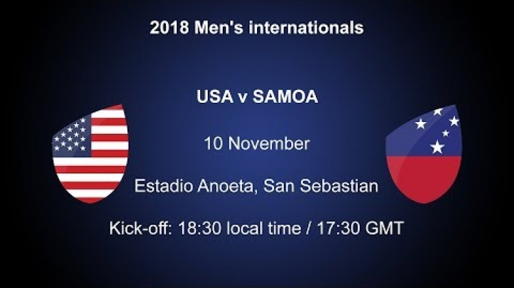 Follow USA v Samoa  LIVE!