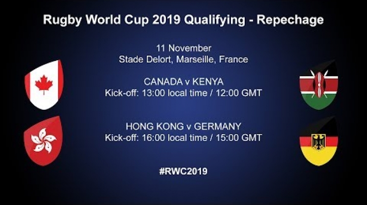 Hong Kong play Germany in match two of the Rugby World Cup 2019 repechage in Marseille #RWC2019