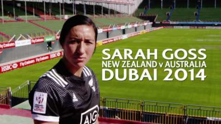 Spotlight: Sarah Goss' Dubai-winning try