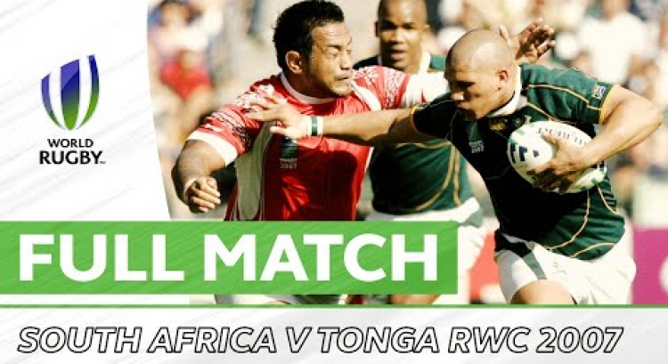 Rugby World Cup 2007: South Africa v Tonga