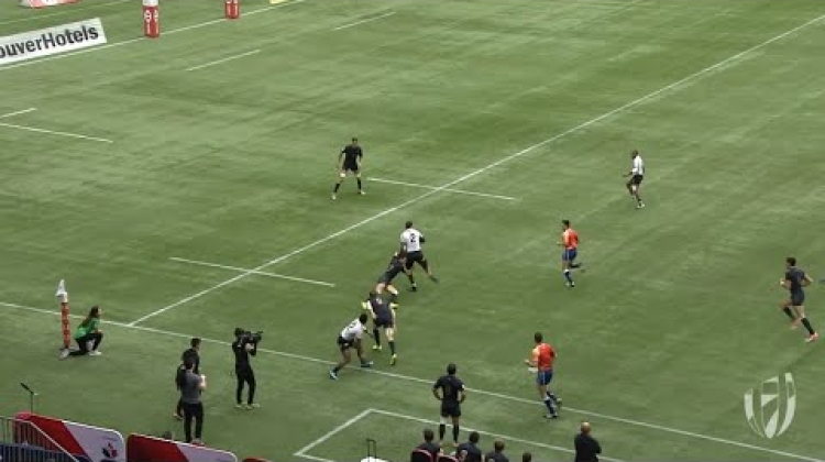 Alasio Naduva scores special try for Fiji