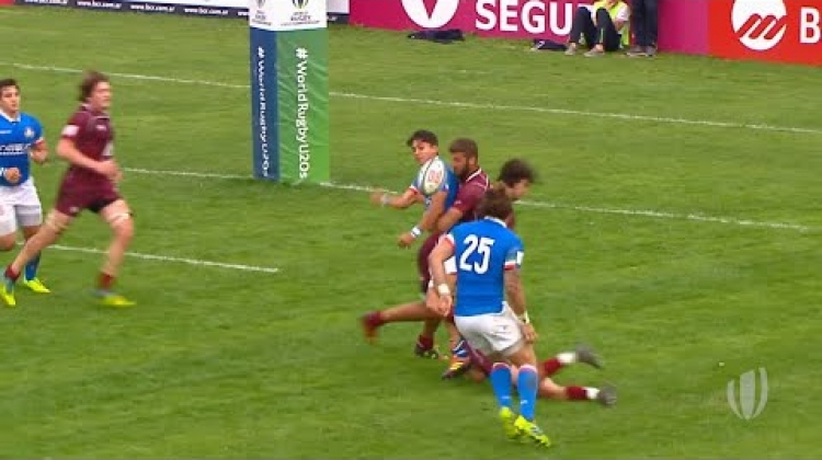 U20s Highlights: Italy stage brilliant comeback to beat Georgia