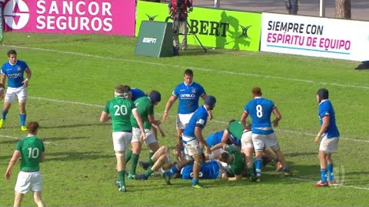 Best five tries from day 3 at the U20s Championship