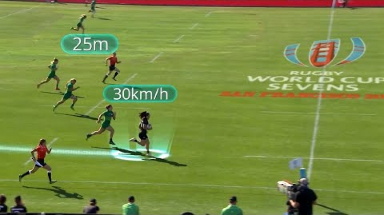 Is Portia Woodman the fastest player in rugby sevens?