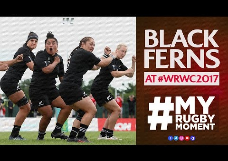 Black Ferns take #WRWC2017 by storm | #MyRugbyMoment