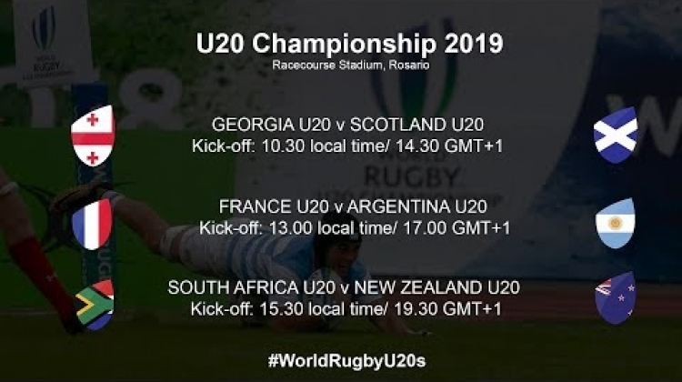 World Rugby U20 Championship 2019 - South Africa U20 v New Zealand U20