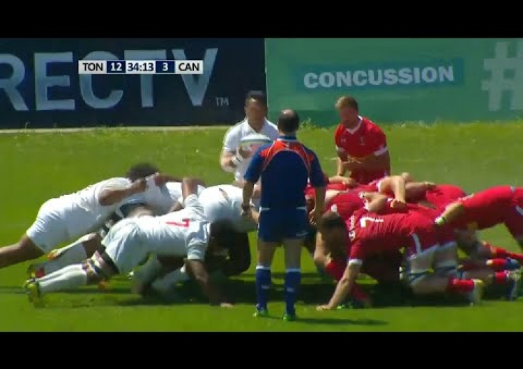 Try time for Tonga 'A' at Americas Pacific Challenge