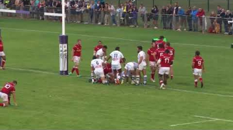 HIGHLIGHTS | Canada Selects vs. ASM Clermont Auvergne (no audio)