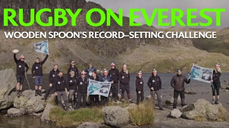 Rugby on Everest: Wooden Spoon's record-setting challenge