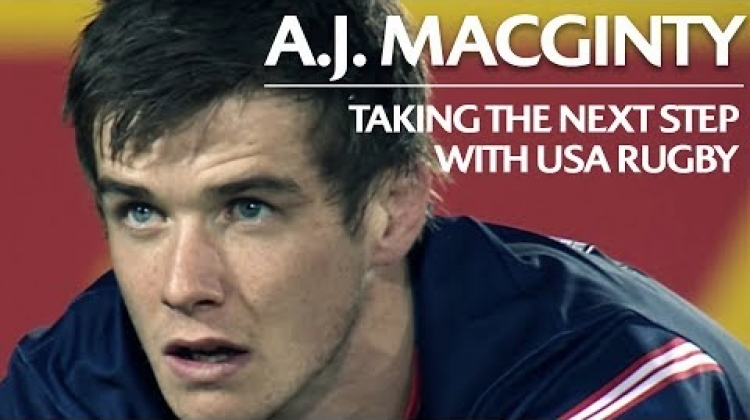A.J. MacGinty on USA's rugby progress