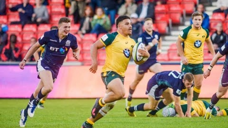 Australia survive Scotland scare - U20 Highlights