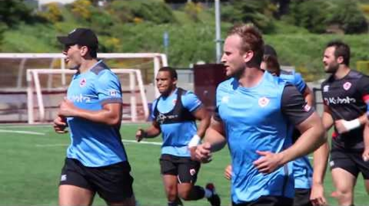 Canada's Men's Rugby Team prepare for June Internationals