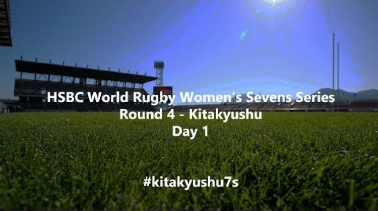HSBC Women's World Rugby Sevens Series 2019 - Kitakyushu Day 1 (French Commentary)