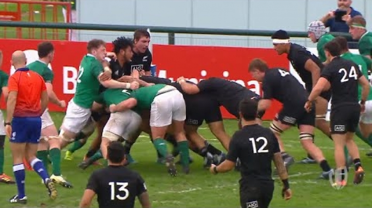 U20s highlights: New Zealand beat Ireland