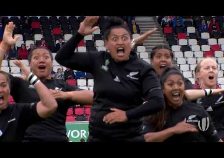 Fierce HAKA in WRWC 2017 semi-final