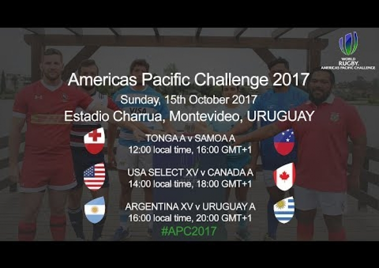 World Rugby Americas Pacific Challenge 2017 - Tonga A v Samoa A