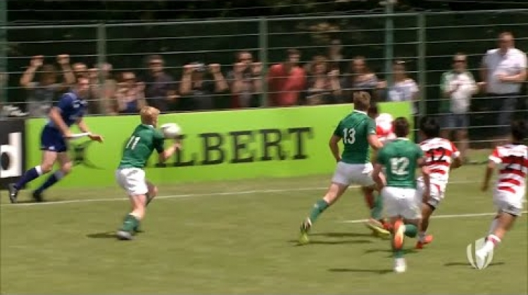 Ireland secure crucial win to stay in World Rugby U20s
