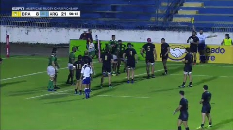 Epic football skills leads to Argentina try - Americas Rugby Championship