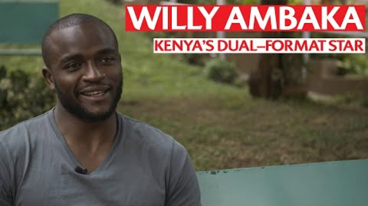 Willy Ambaka | Kenya's two-way star