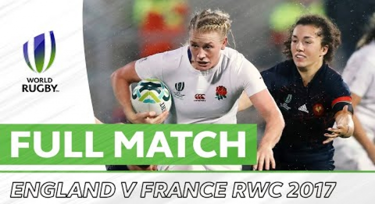 Rugby World Cup 2017: England v France