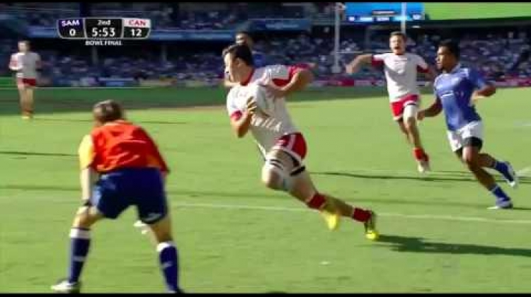 Hirayama dazzles during 2015-16 HSBC Sevens Series season