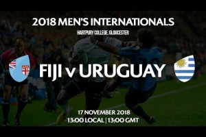 Follow Fiji v Uruguay LIVE! (English Commentary)
