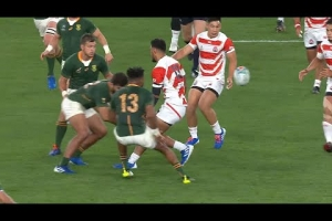 Top 5: Japan skills at Rugby World Cup 2019