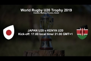 World Rugby U20 Trophy 2019 - Japan U20 v Kenya U20