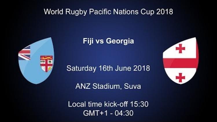Pacific Nations Cup 2018 - Fiji v Georgia