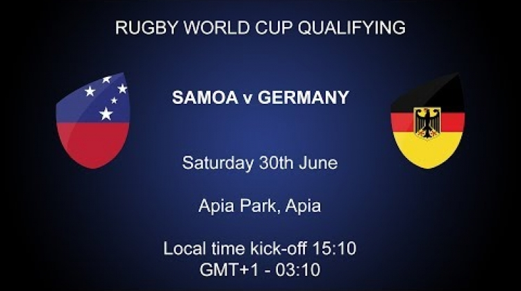 Rugby World Cup 2019 Qualifying - Samoa v Germany