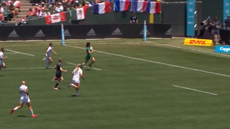 DHL Moment That Delivers: Ireland's big win at RWC 7s