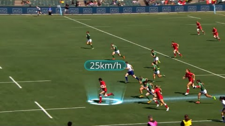 Brittany Benn scores rapid try against Brazil