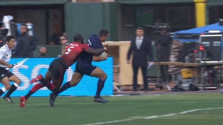 Farndale scores epic finisher for Scotland! - Rugby World Cup Sevens 2018
