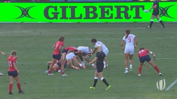 Powerful USA running leads to a great team try