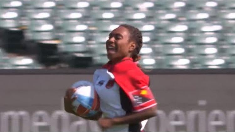 Chelsea Garesa keeps scoring wonder tries for Papua New Guinea