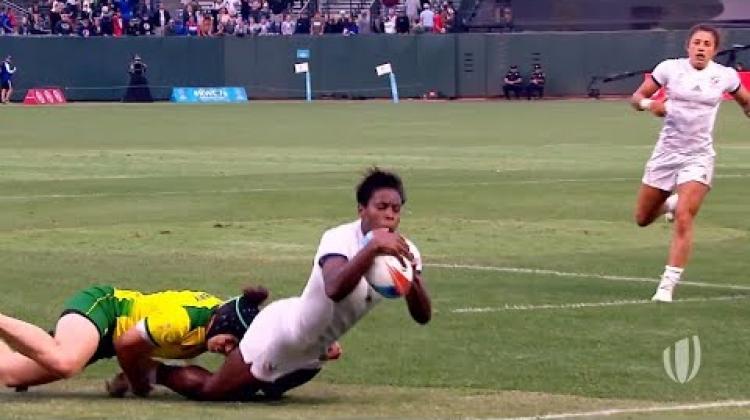 HSBC Women's Dream Team: Rugby World Cup Sevens