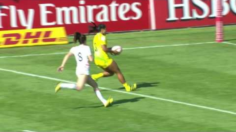 Re:Live: Tiana Penitani comes back from injury to score a double!