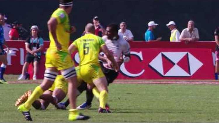 Fiji the offload masters! - School of Sevens